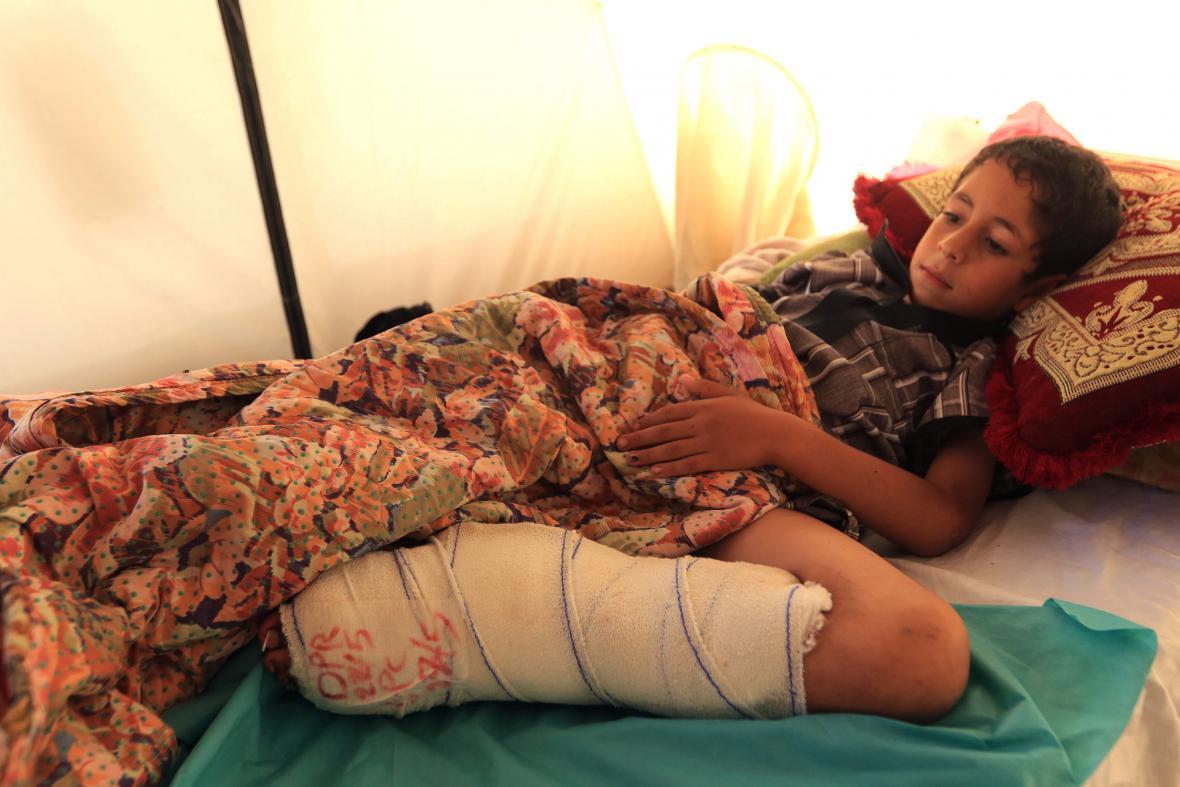 Zranění Iráčané