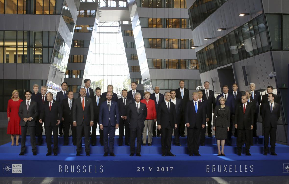 Nové sídlo NATO v Bruselu