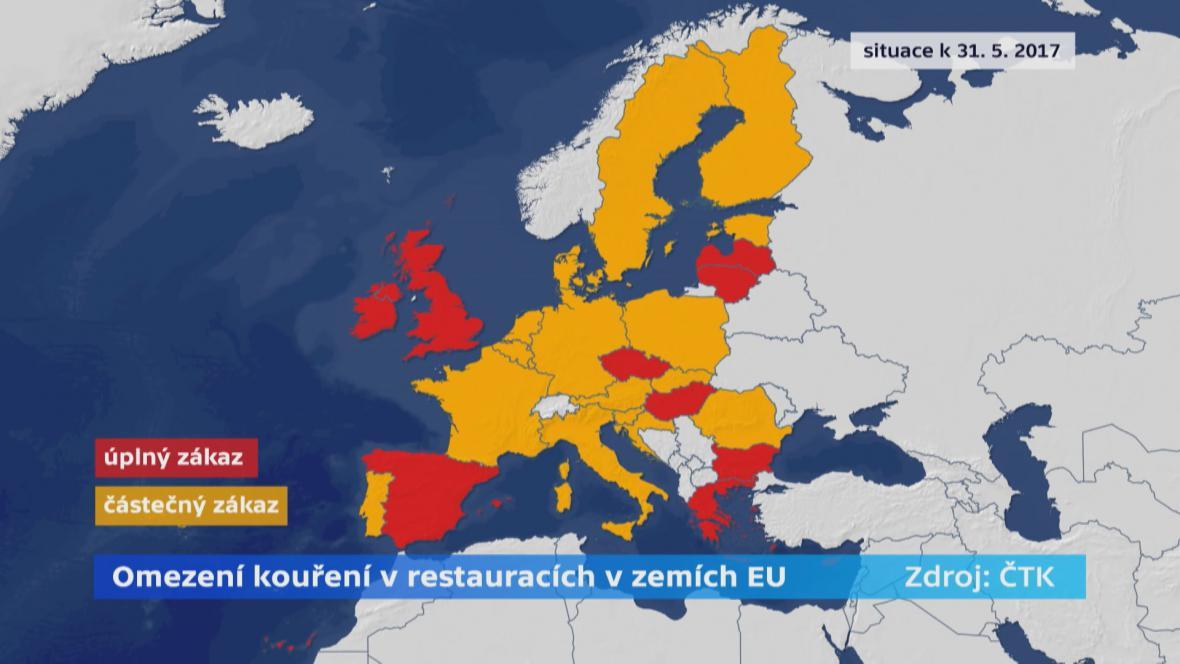 Omezení kouření ve státech EU