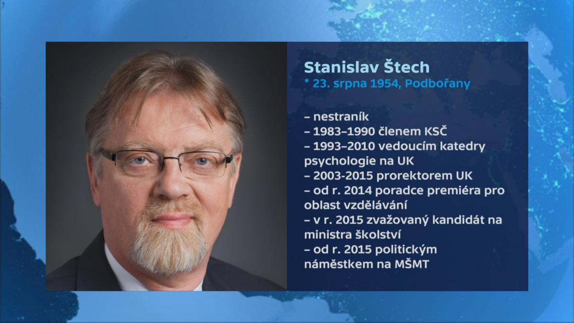 Vizitka Stanislava Štecha