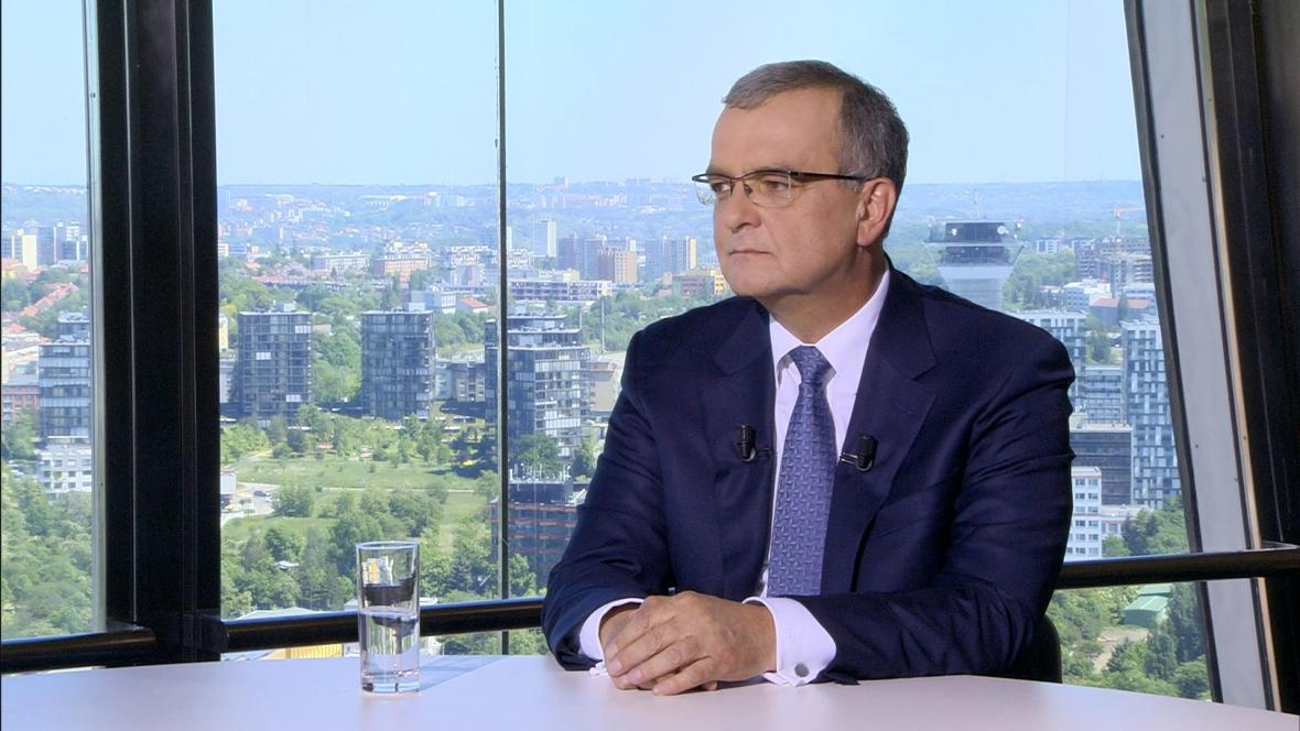 Předseda TOP 09 Miroslav Kalousek