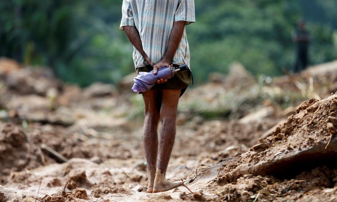 Záplavy na Srí Lance