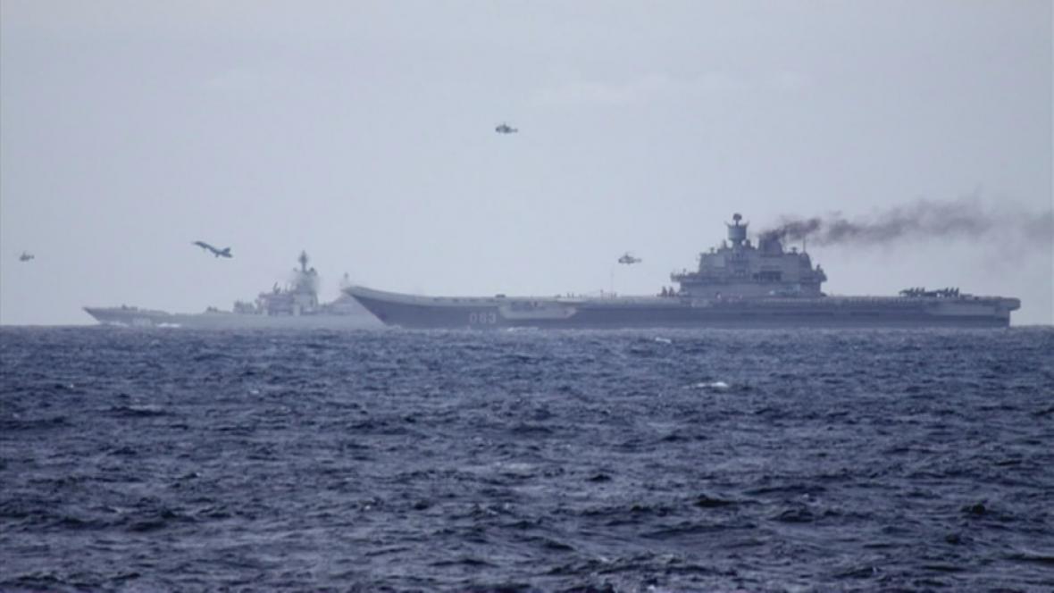 Rusko zaútočilo střelami s plochou dráhou letu na IS v Sýrii