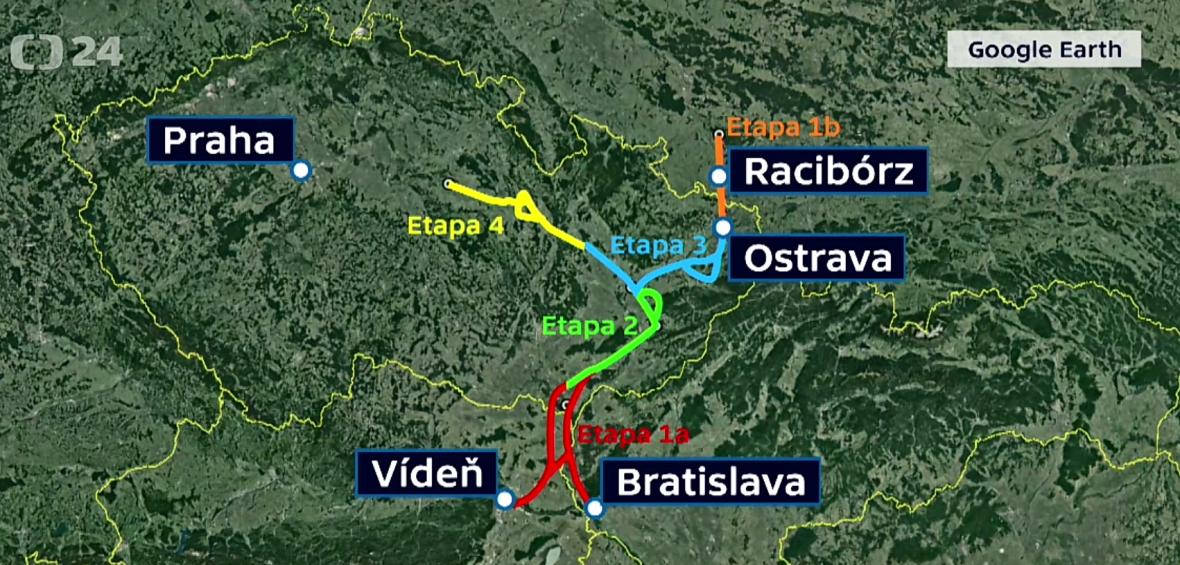 Projekt propojení Odry, Labe a Dunaje
