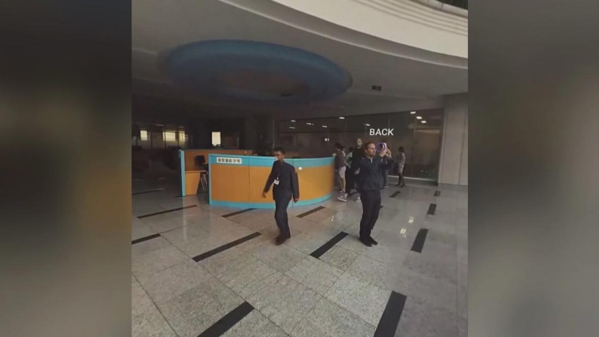 Virtuální prohlídka Pchjongjangu