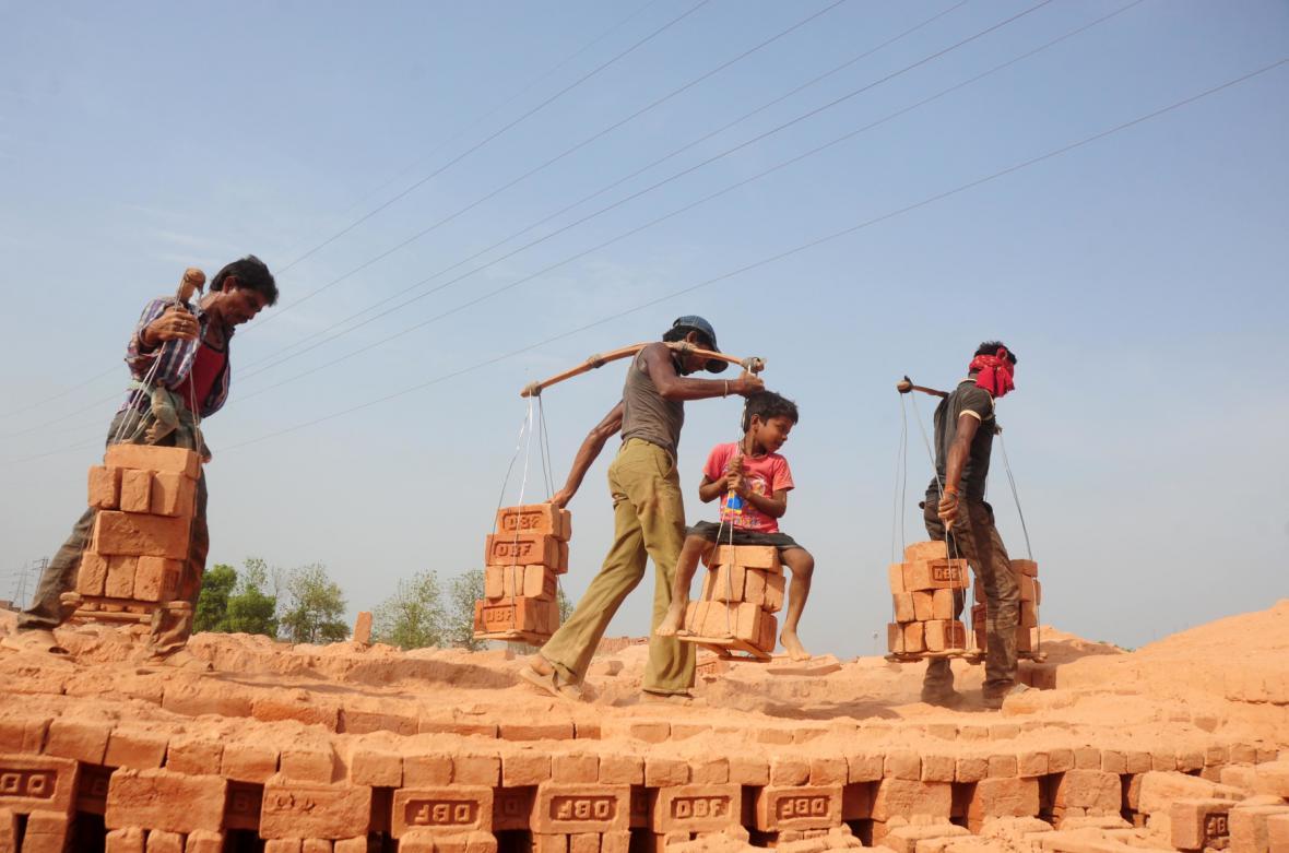 Indičtí pracovníci