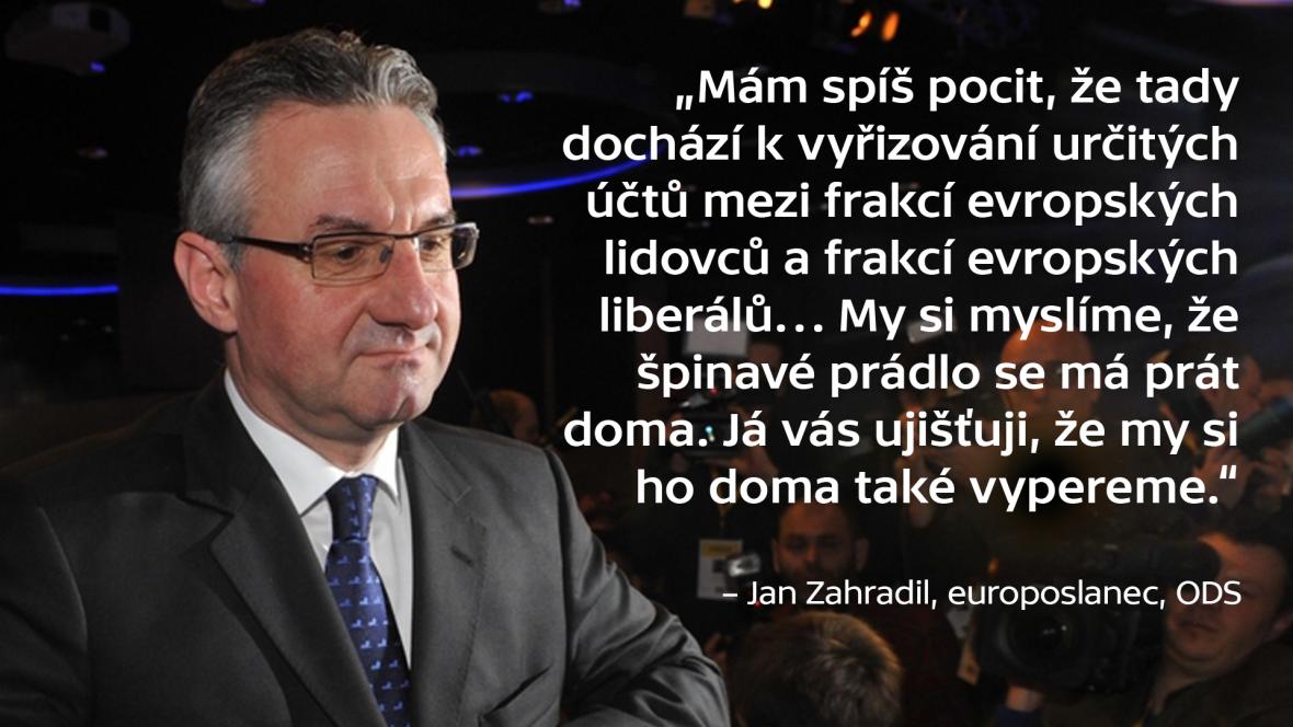 Synchron Jan Zahradil