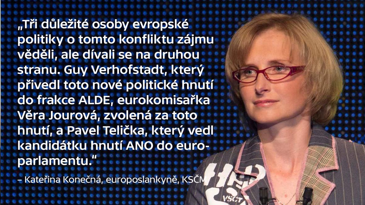 Slouží česká média politické moci?. Co v Bruselu zaznělo...
