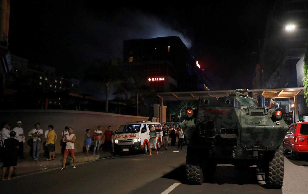 Útok na hotel v Manile