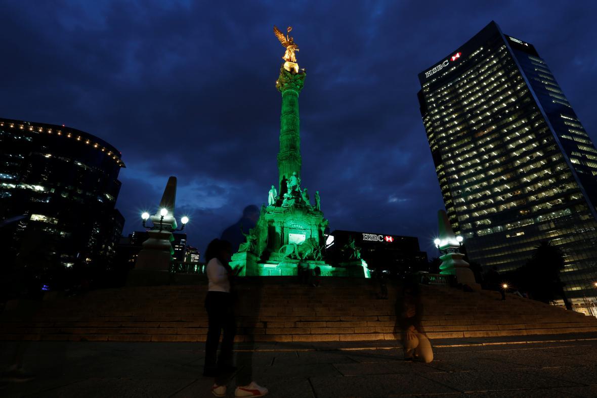 Monument Anděla nezávislosti v Mexiku