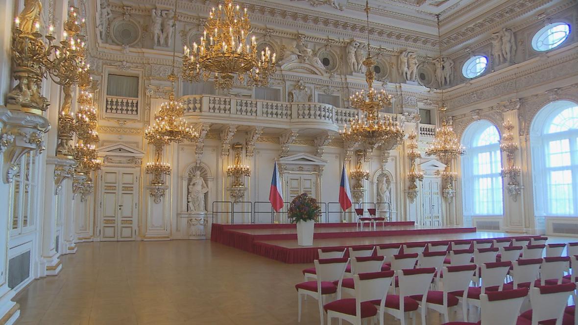 Španělský sál bývá běžně přístupný jen na pozvání
