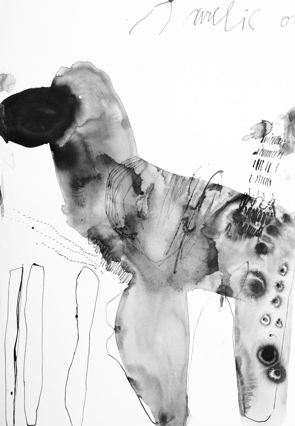 Z výstavy Musa: Signatura (Výstavní síň Mánes)
