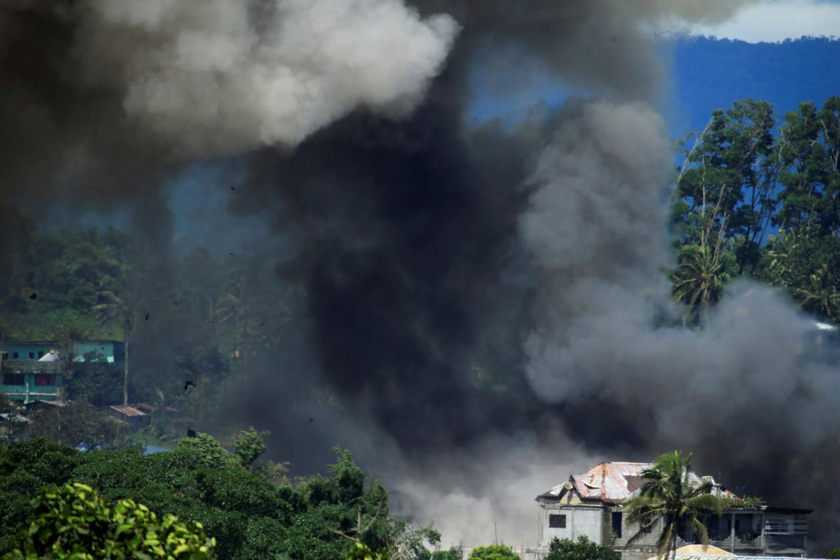 Boj o Marawi