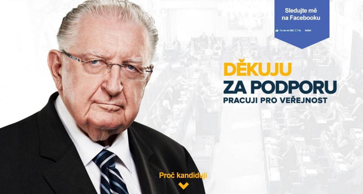 """Heslo Františka Čuby znělo """"Pracuji pro veřejnost"""""""