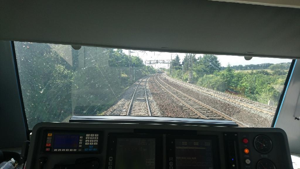 Oba vlaky od sebe dělilo zhruba 200 metrů