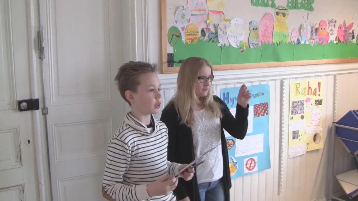 Finští žáci se učí během projektů