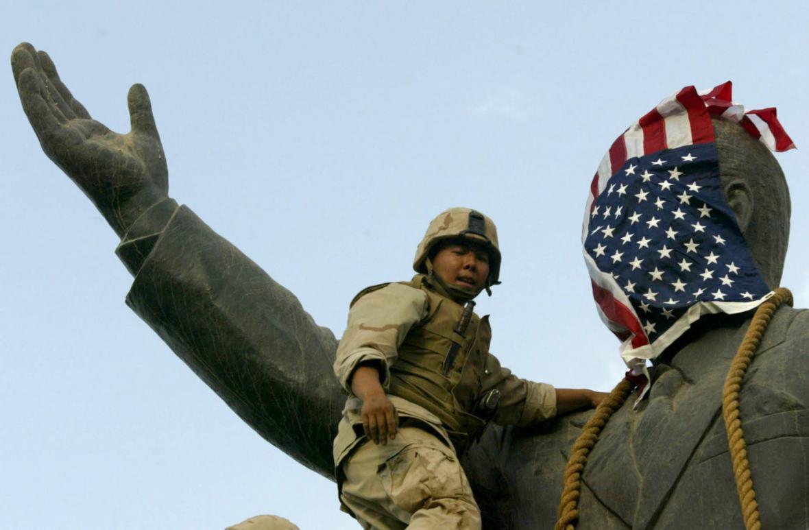 Americká invaze do Iráku