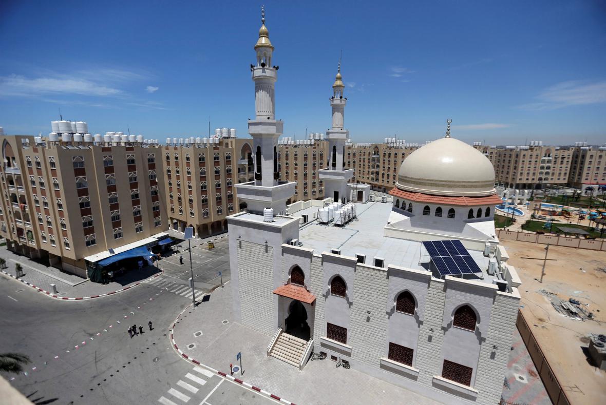 Katarem financovaný projekt Hamad City v Gaze