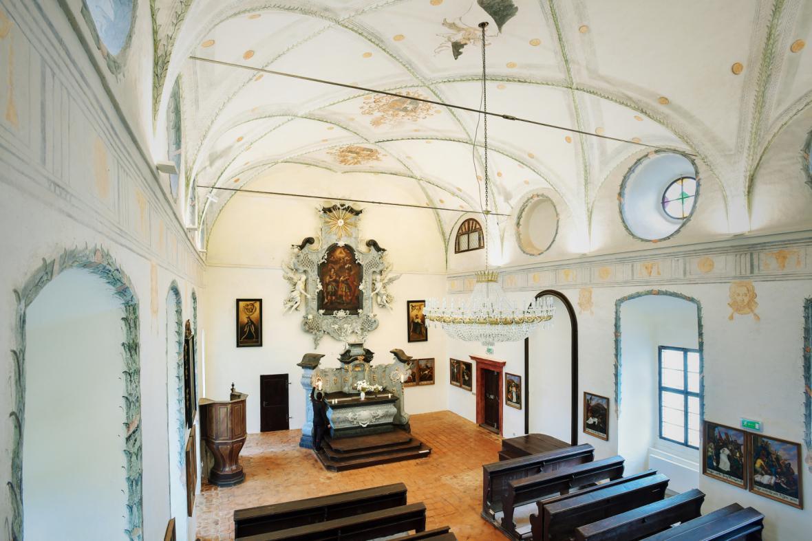 Kaple na zámku Svijany