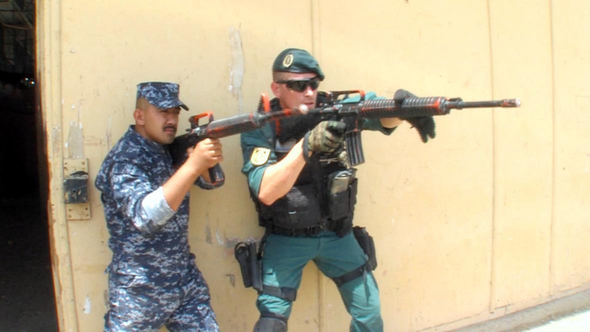 Výcvik iráckých policistů