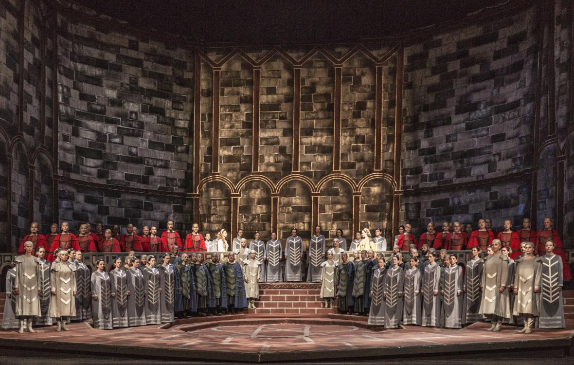 Lohengrin v Národním divadle