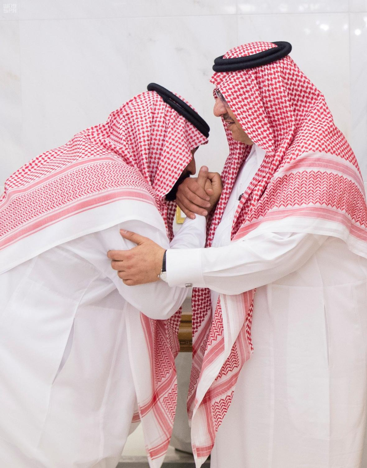 Předání následnictví mezi Muhammadem bin Najífem a Muhammadem bin Salmánem