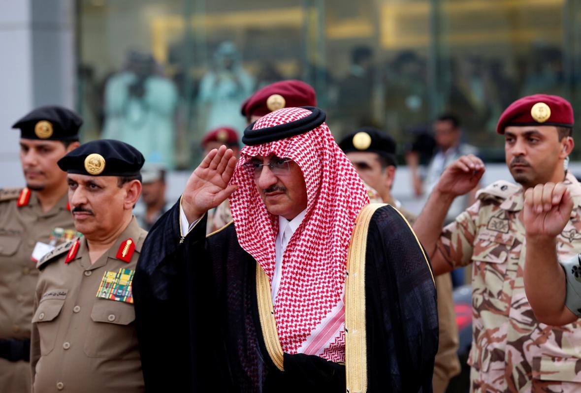 Dosavadní korunní princ Muhammad bin Najíf