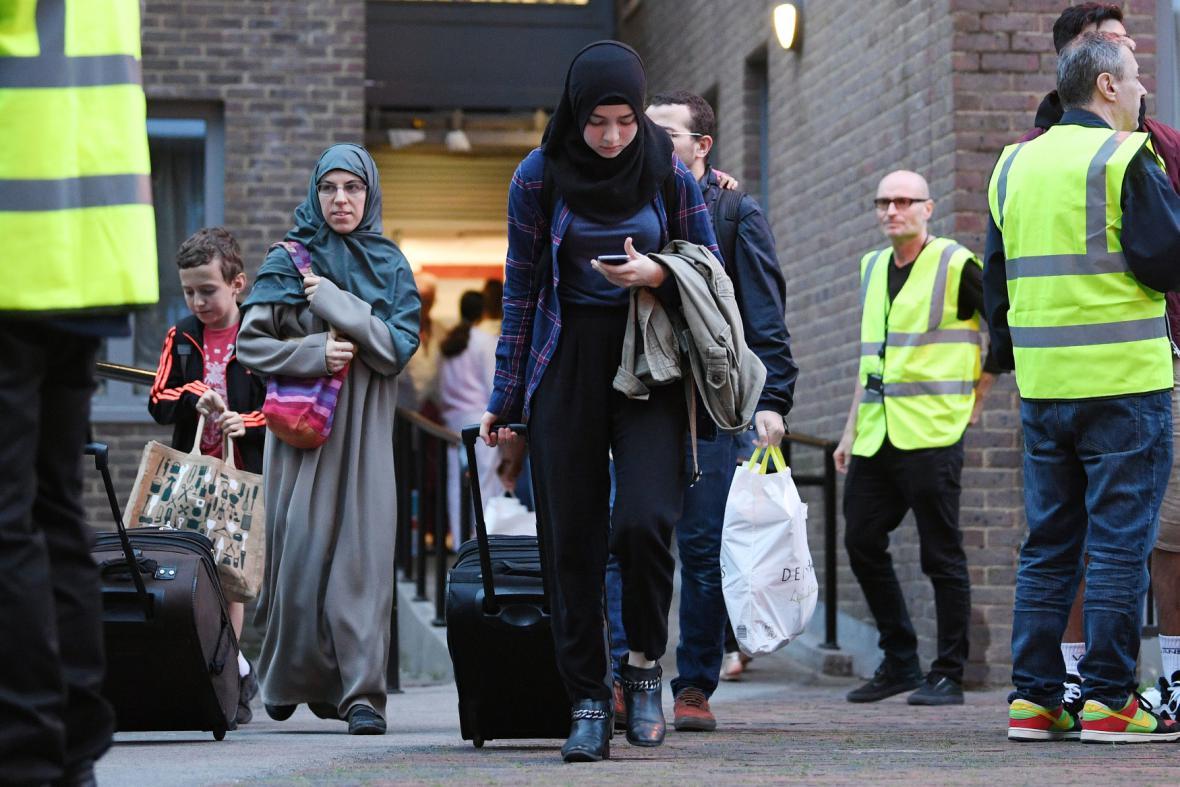Evakuace Londýňanů
