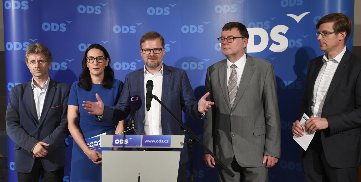 Vedení ODS schválilo program i kandidátky