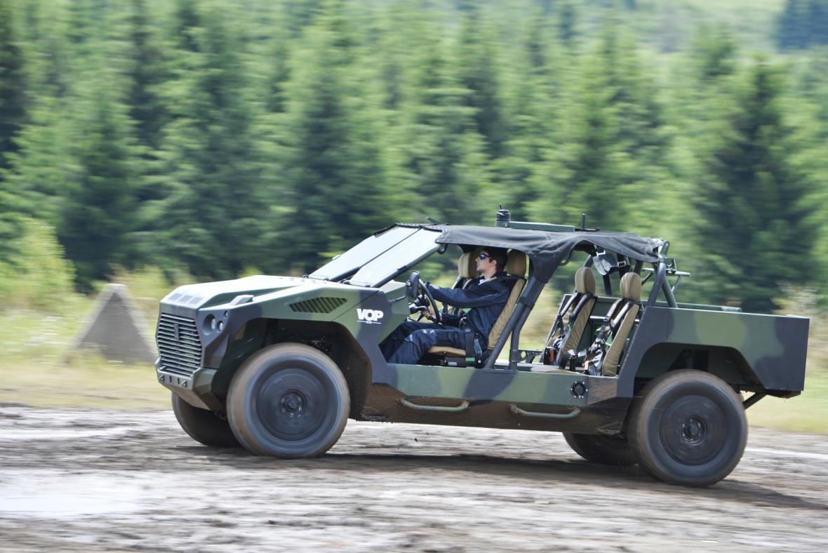 Lehké bojové vozidlo NIMR RIV