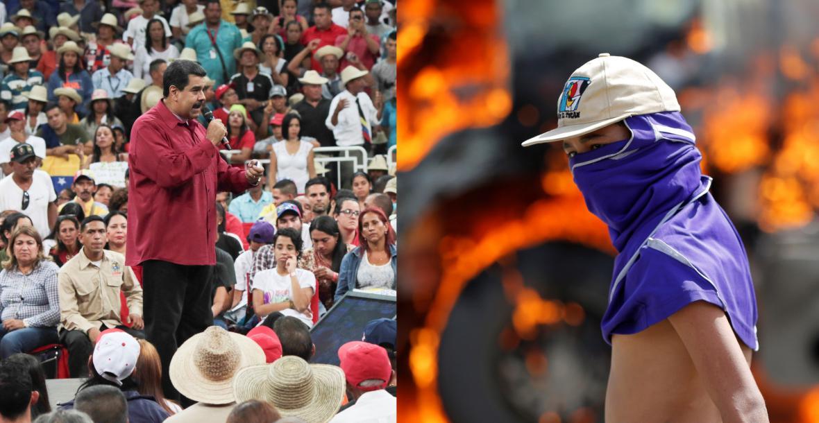 Prezident Maduro - národem obdivovaný i nenáviděný