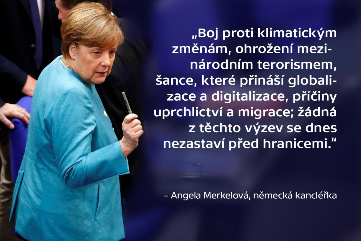 Angela Merkelová – synchron