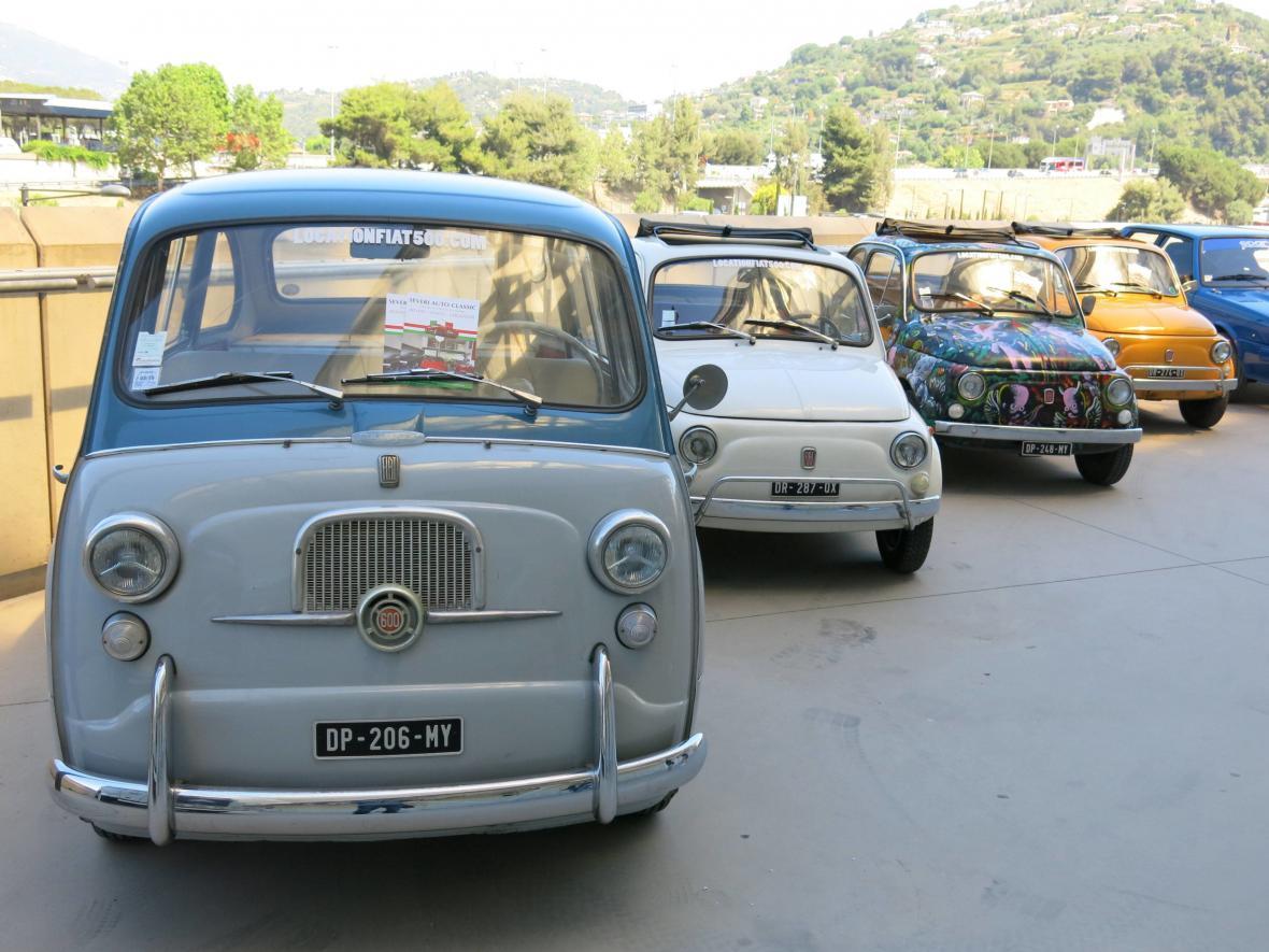 Legendární Fiat 500