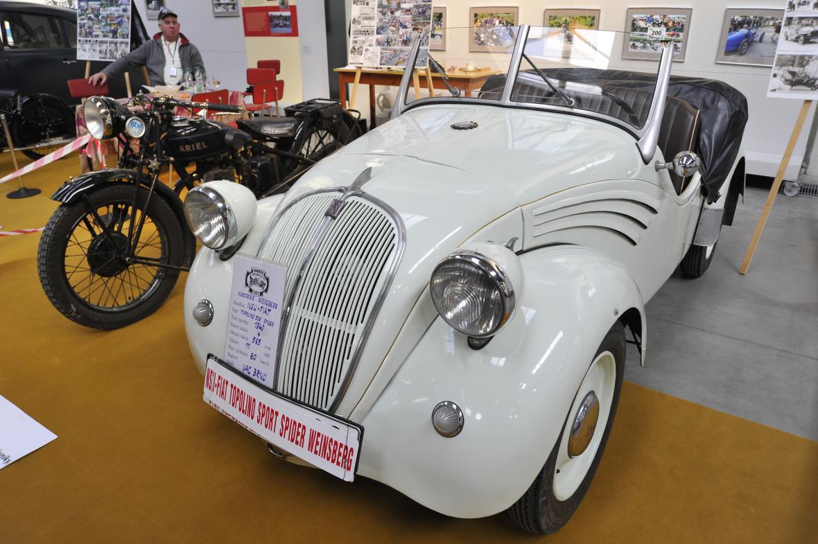 Fiat Topolino 500 spider