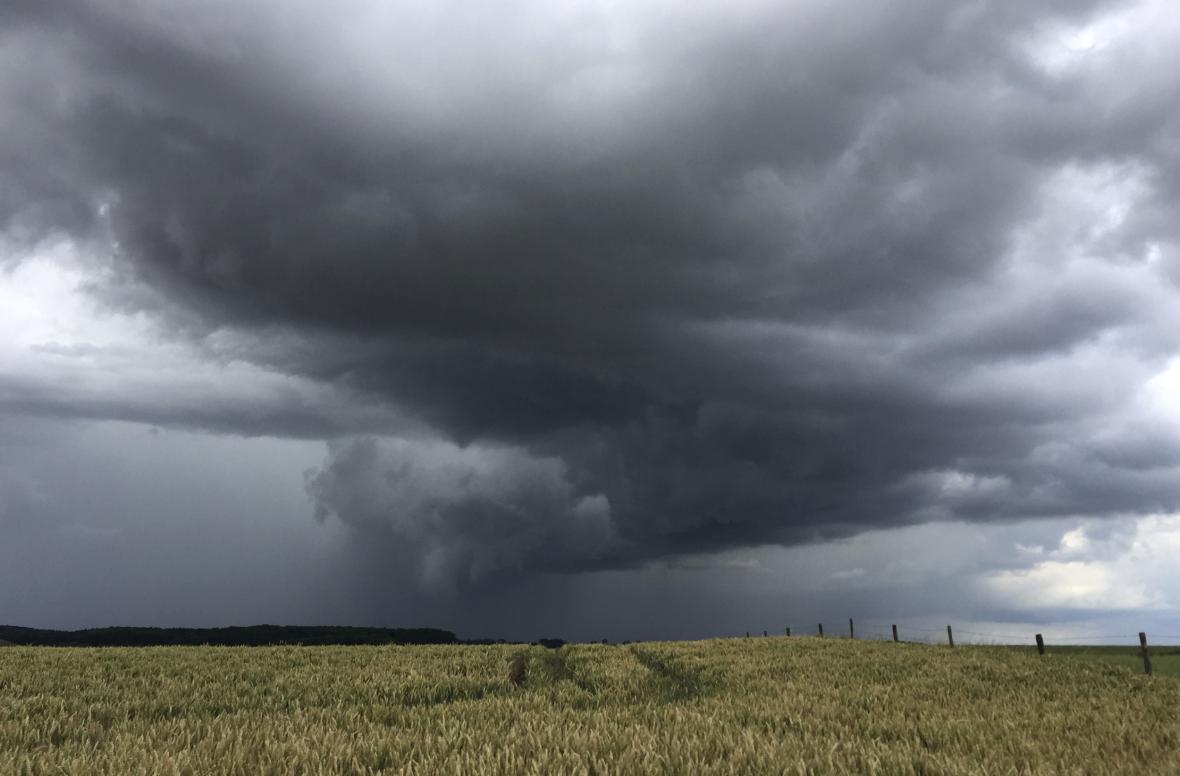 Deště potrápily Německo