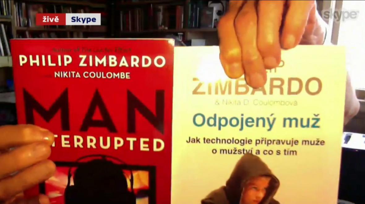 Americké a české vydání nejnovější knihy Philipa Zimbarda