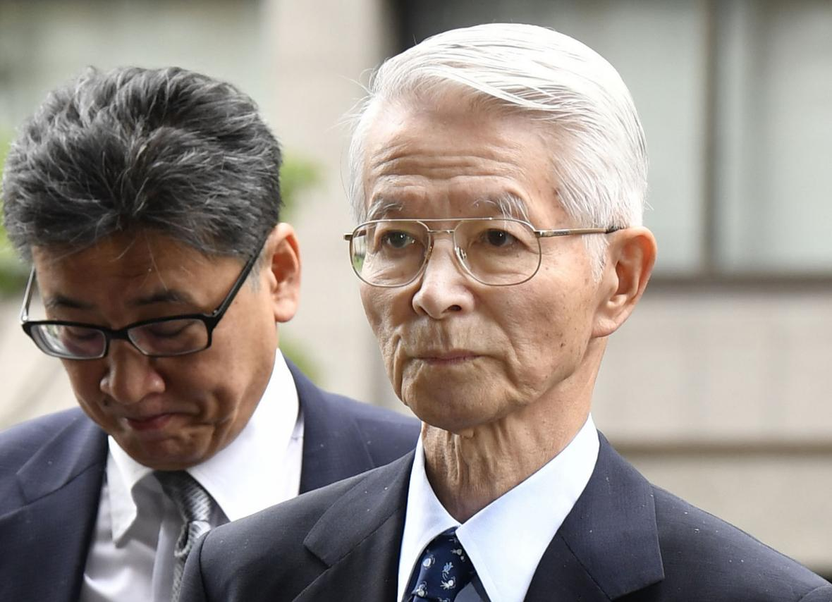 Bývalý předseda firmy TEPCO Cunehisa Kacumata