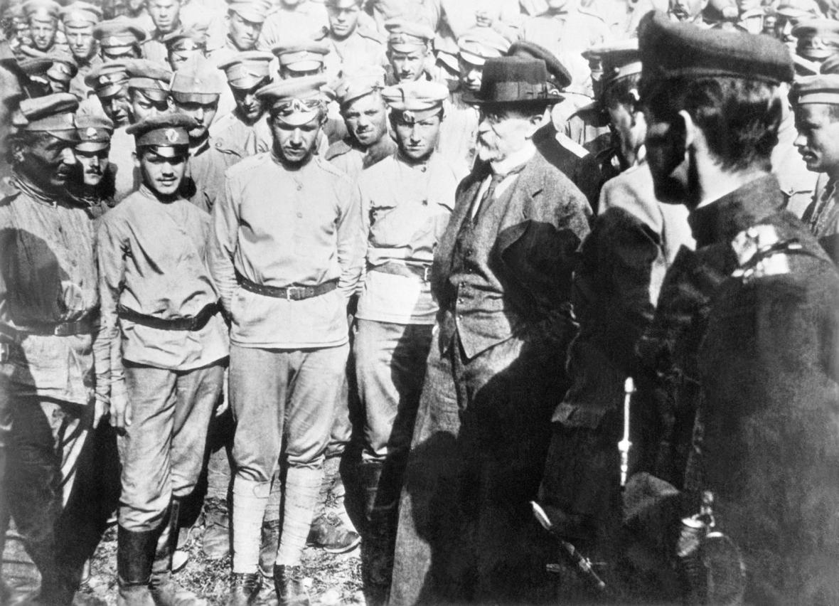 Masaryk s dobrovolníky