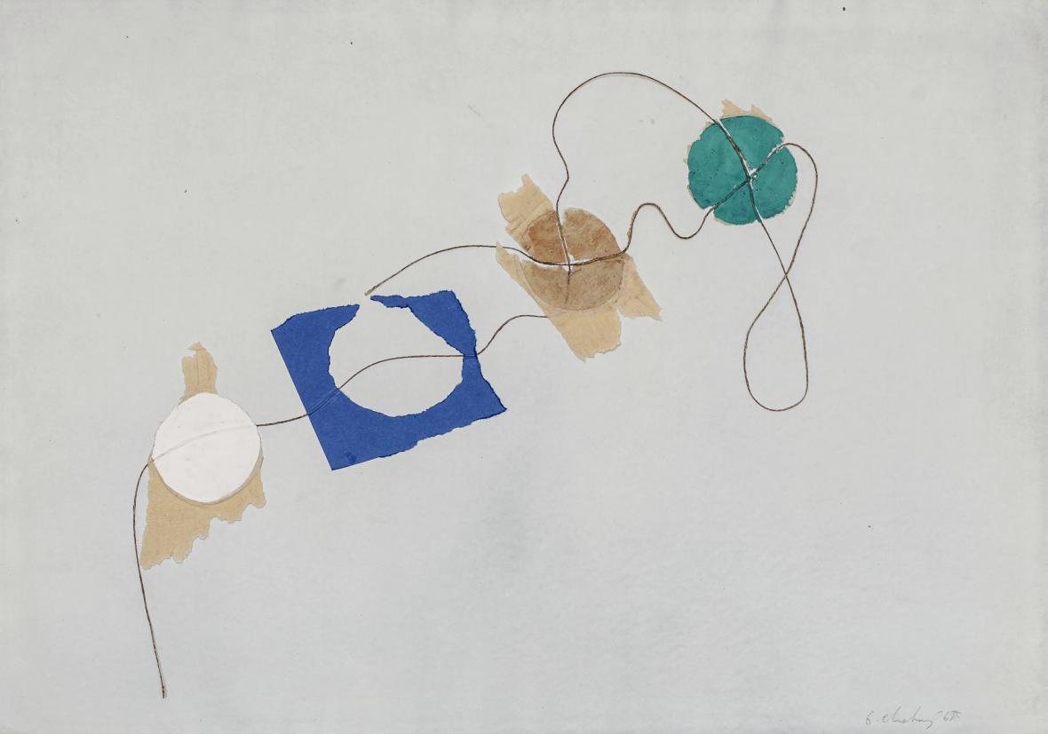 Dalibor Chatrný / bez názvu, 1968