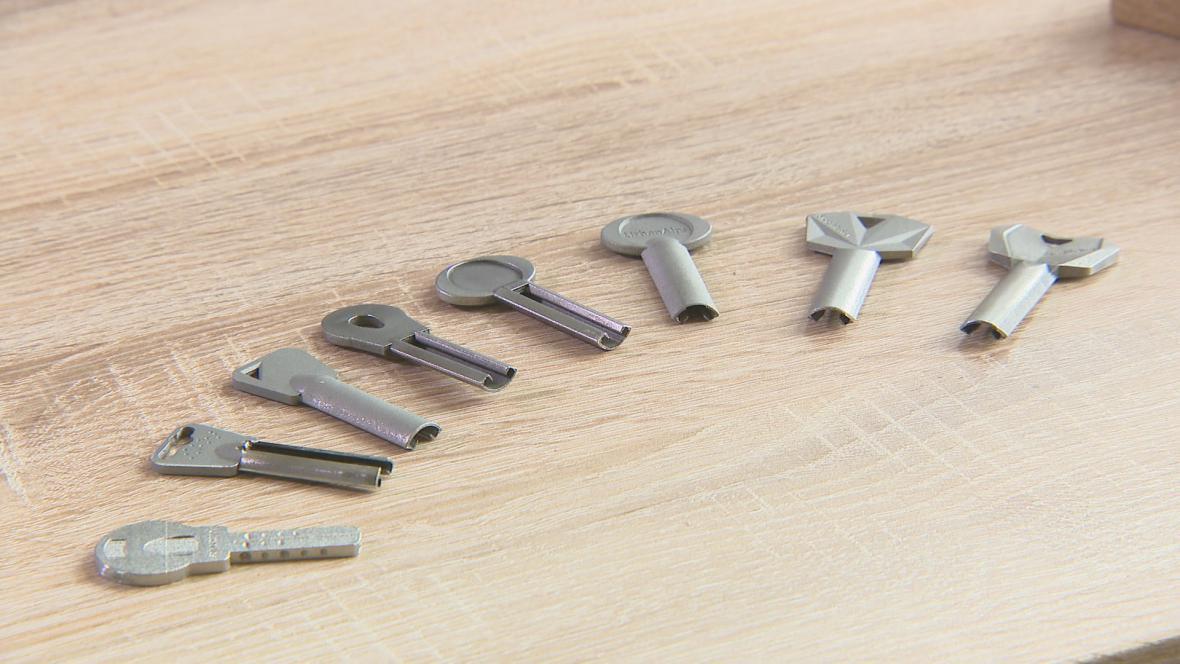 3D klíče