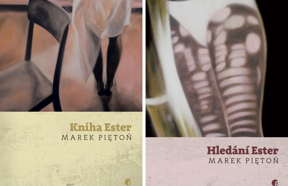 Knihy Marka Piętoně: Kniha Ester a Hledání Ester