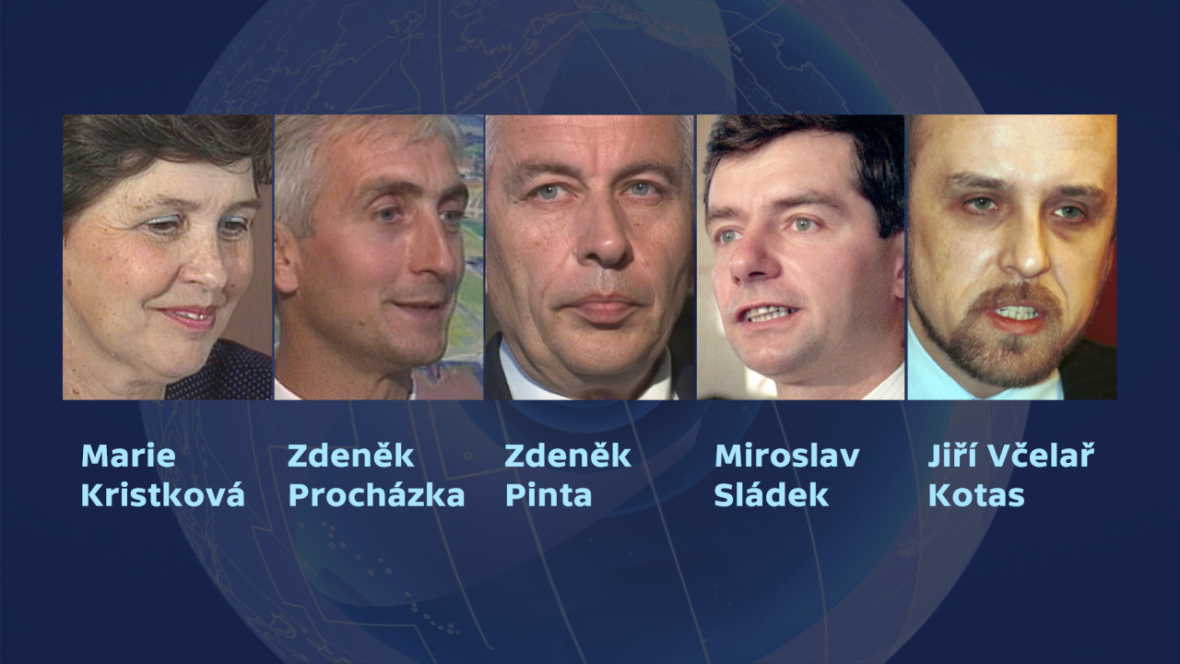 Kandidáti v prezidentských volbách 1992