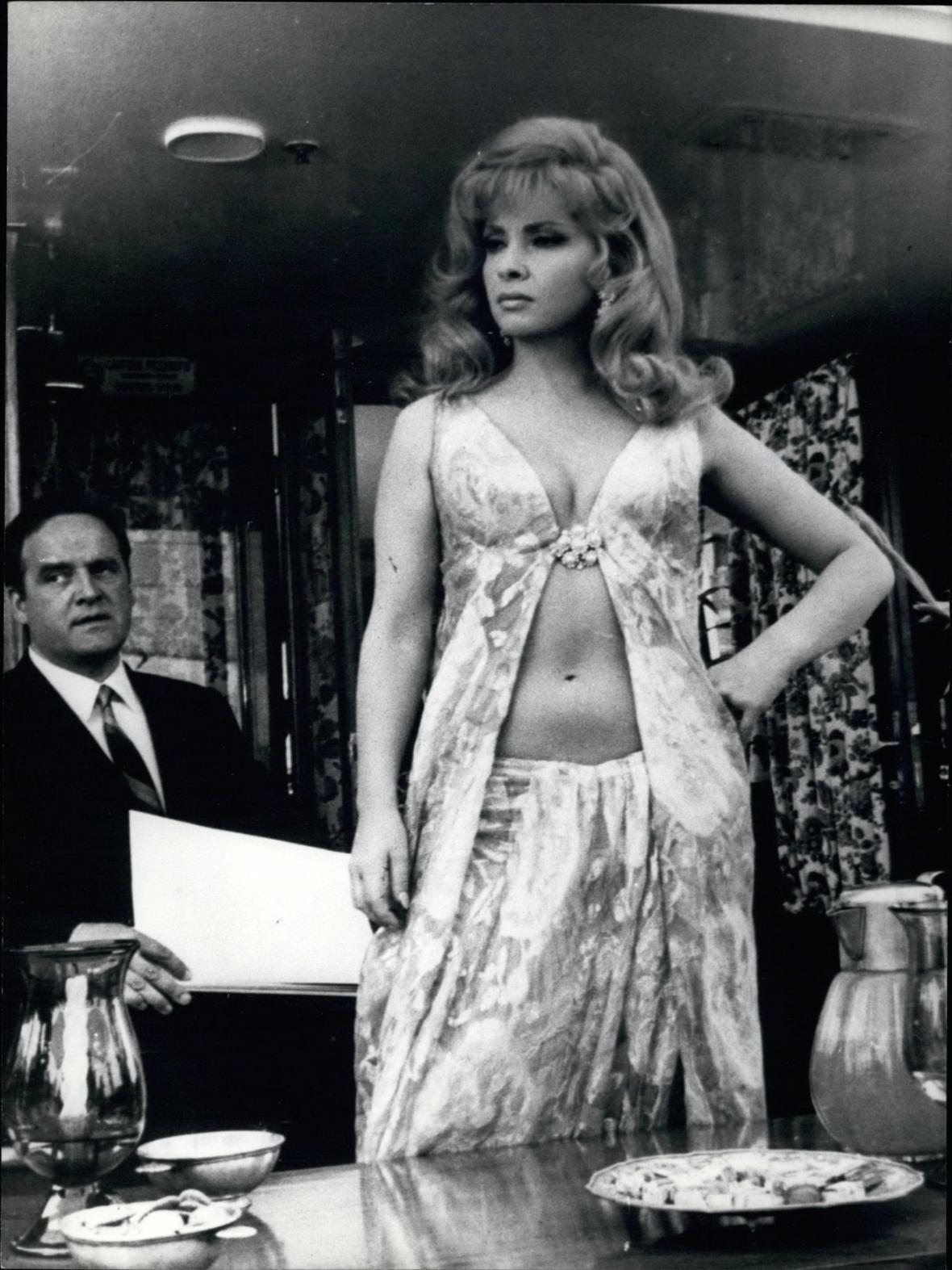 Při natáčení filmu Stuntman (1968)