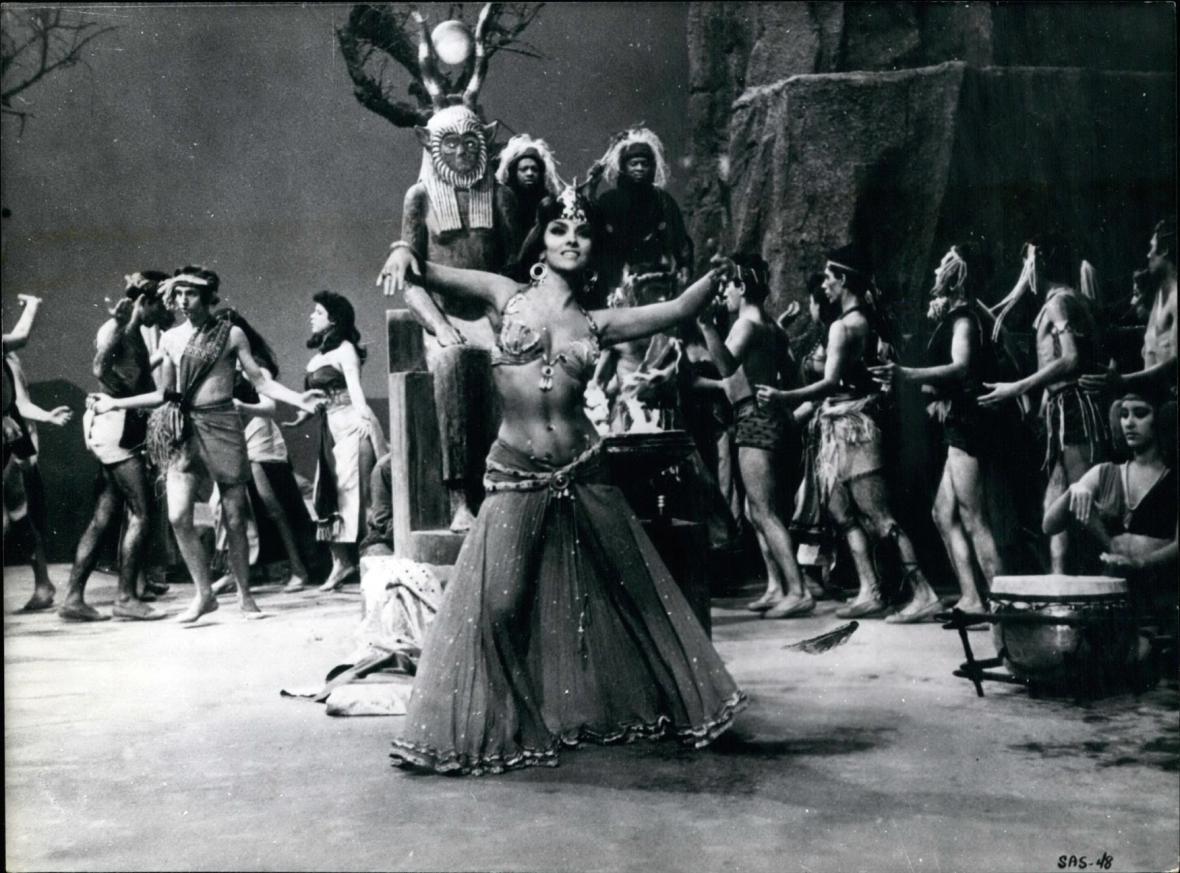 Ve filmu Šalamoun a královna ze Sáby (1959)