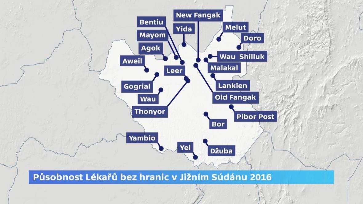 Lékaři bez hranic v Jižním Súdánu