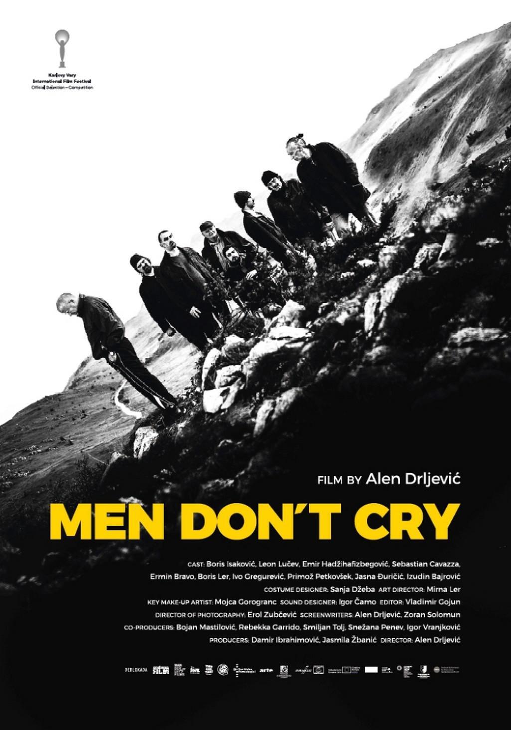 Plakát k filmu Chlapi nepláčou