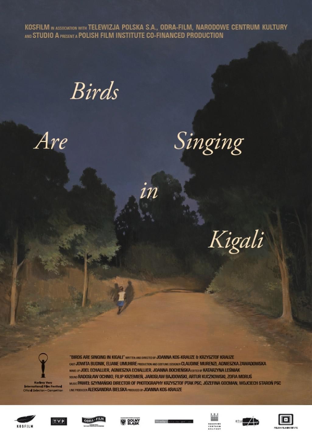 Plakát k filmu Ptáci zpívají v Kigali