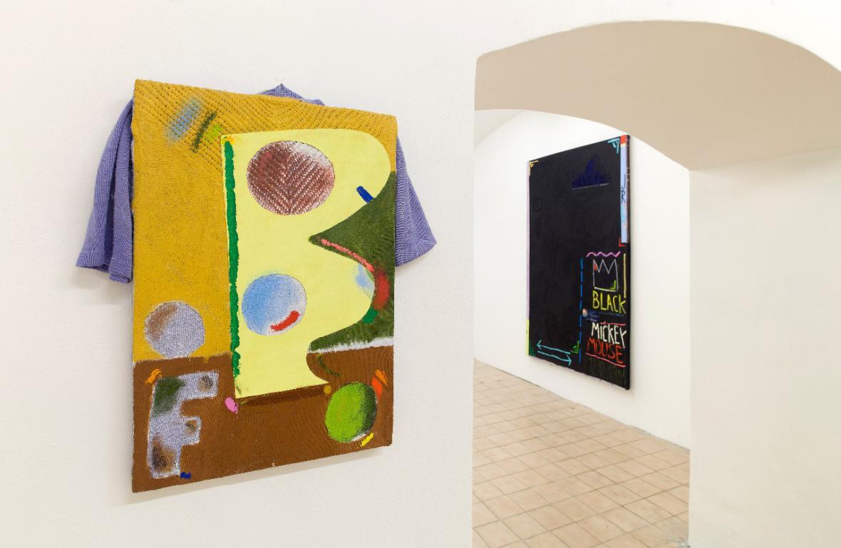 Z výstavy Julius Reichel: White Trash / Trash Pop