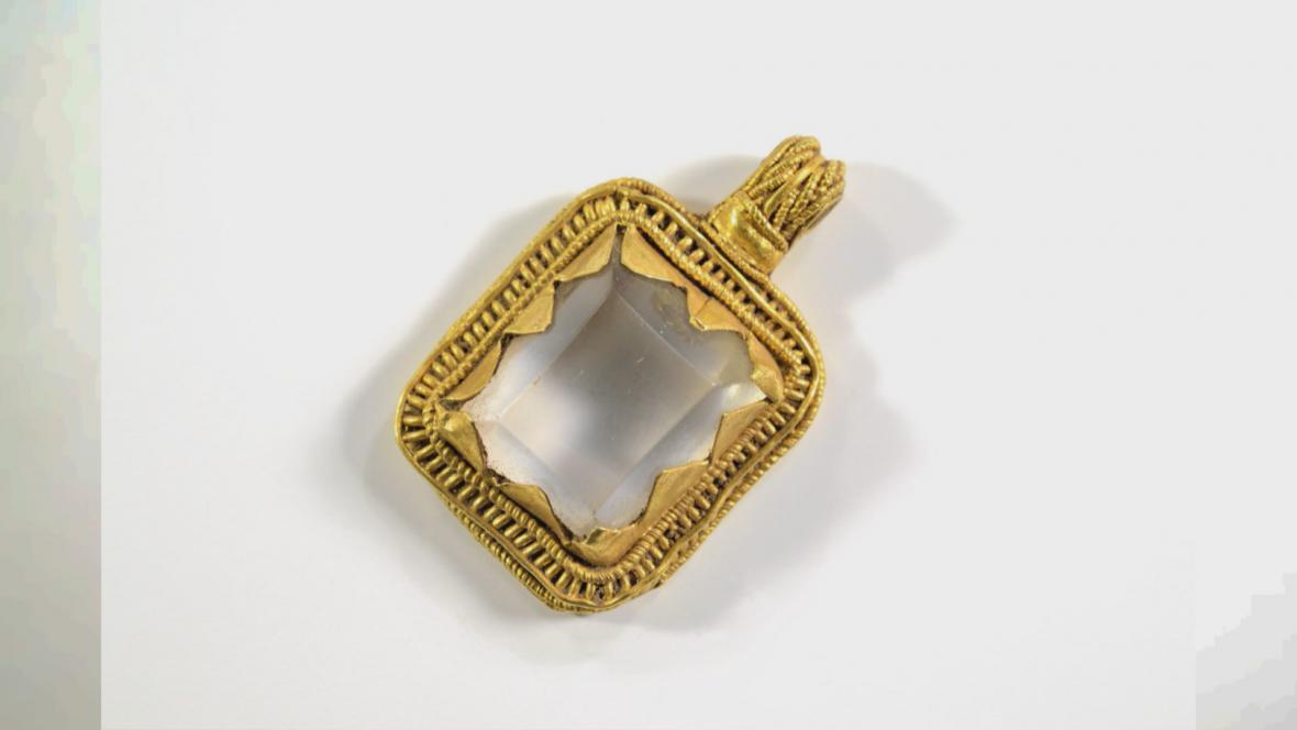 Vikingský poklad nalezený v Dánsku