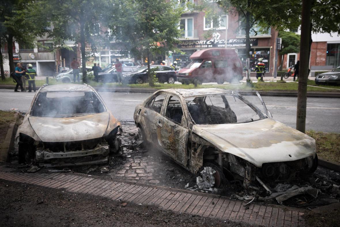 Následky protestů proti summitu G20 v Hamburku